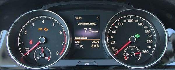 Signification des voyants tableau de bord automobile